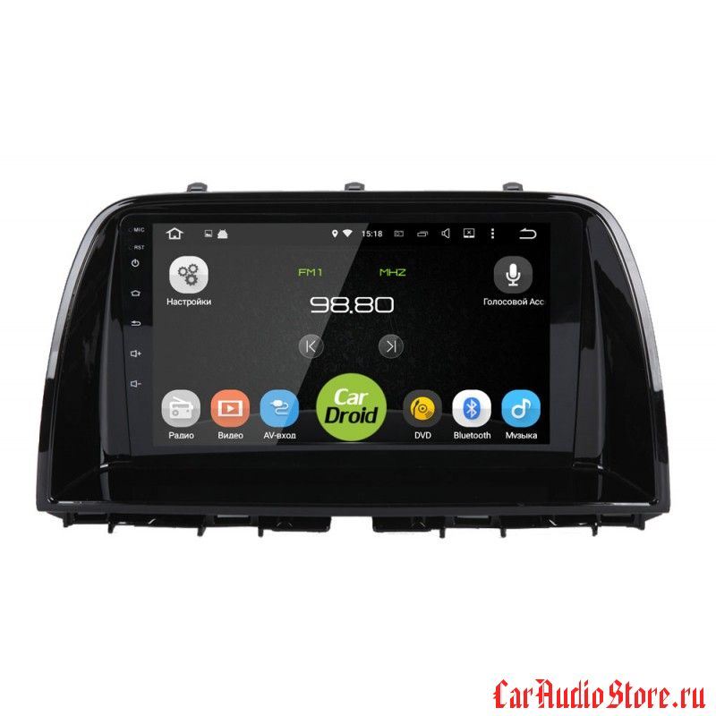 CarDroid RD-2410F для Mazda CX-5 (Android 6.0)