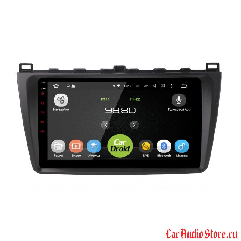CarDroid RD-2415F для Mazda Mazda 6, 2009 (Android 6.0)