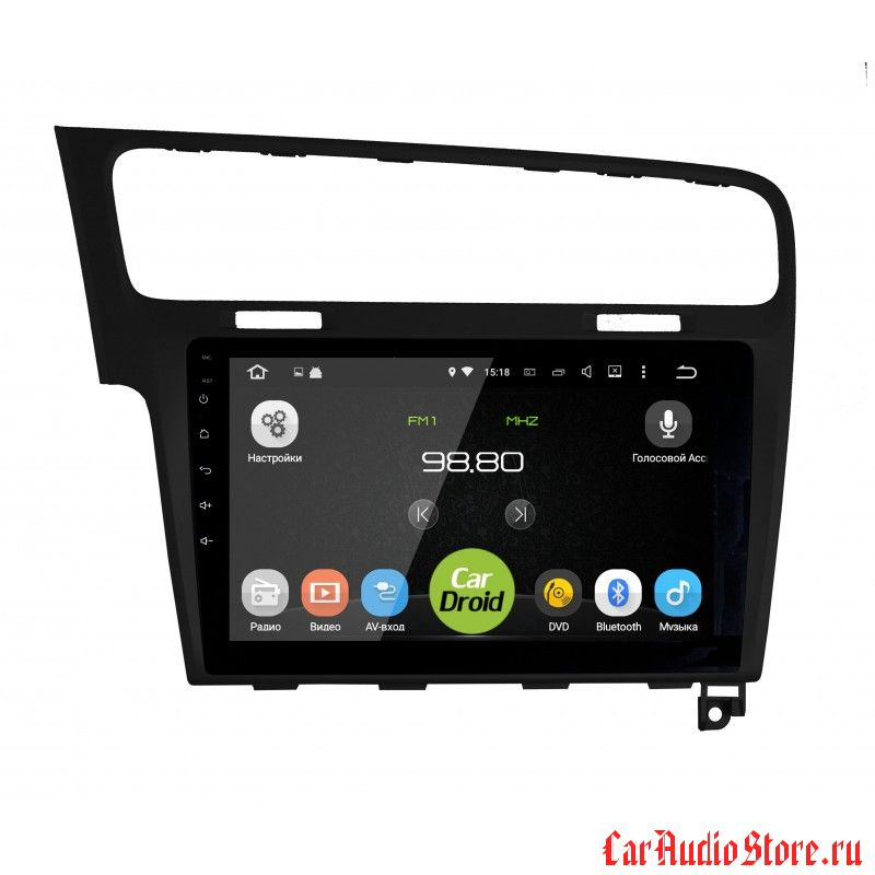 CarDroid RD-3715F для Volkswagen Golf 7 (Android 6.0) (RD-3715FB black)