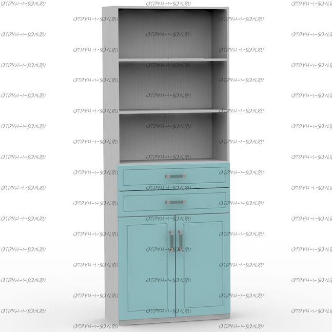 Шкаф 2-дверный Teen`s (80х37х216)