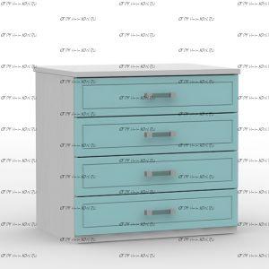 Комод Teen`s Home 2 / Lite (81х59х77)
