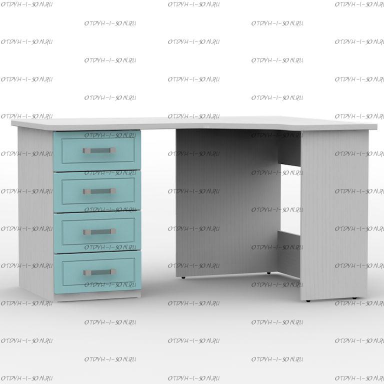 Стол письменный угловой правый/левый 1360 Teen`s Home 2 / Lite (136х100х77)