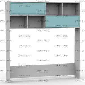 Шкаф-надстройка Teen`s Home 2 / Lite (205х35х216)