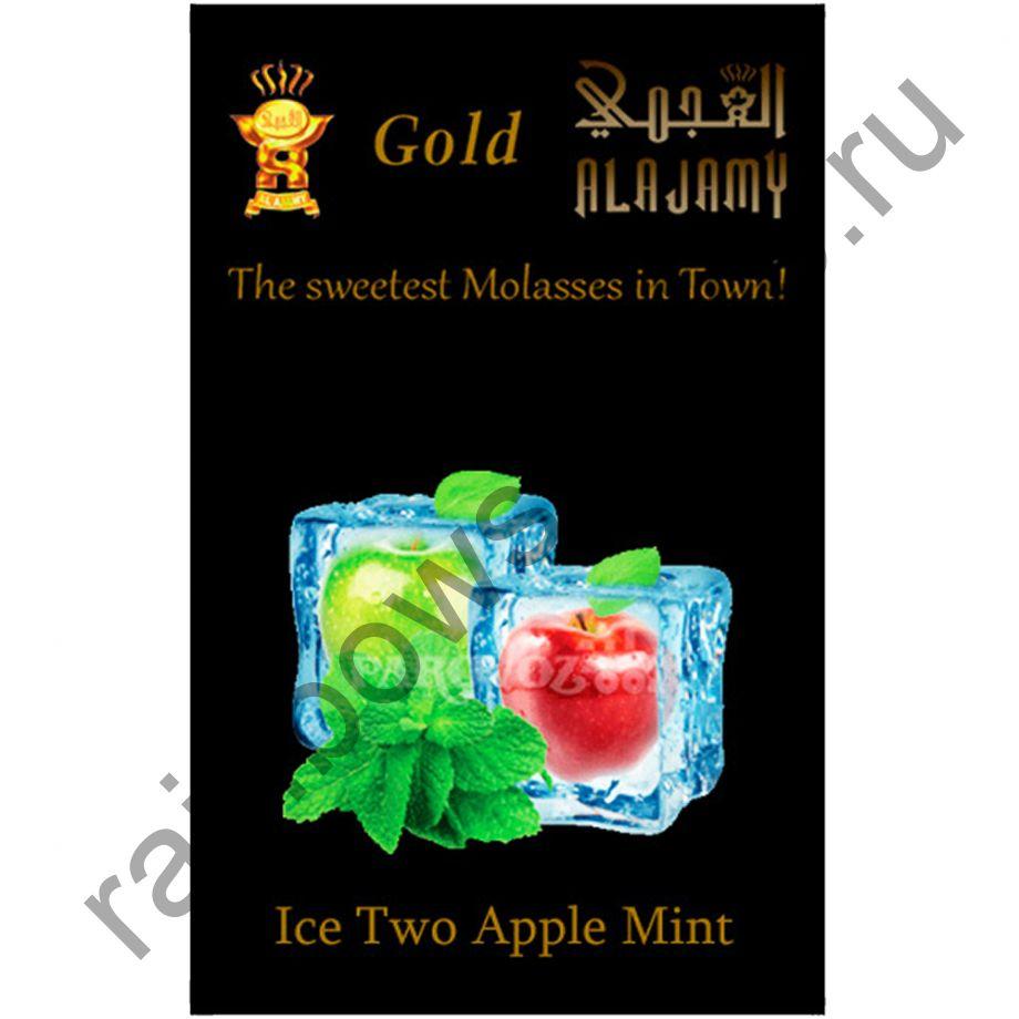 Al Ajamy Gold 50 гр - Ice Two Apple Mint (Ледяное двойное яблоко с мятой)