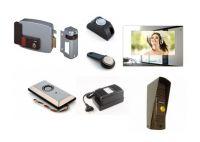 КСКДВ-16 Комплект системы контроля доступа с Видеодомофоном для 1-ой калитки или уличной двери