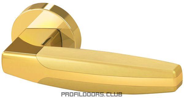 Ручка раздельная ARC URB2 GOLD-24/GOLD-24/SGOLD-24