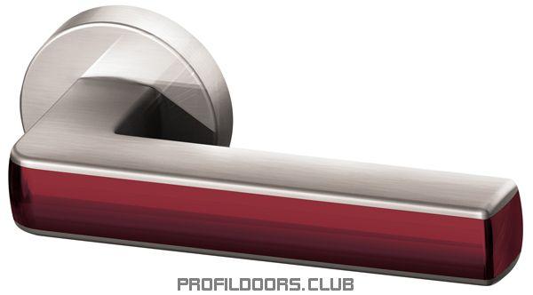 Ручка раздельная CUBE URB3 SN/Bordo-18