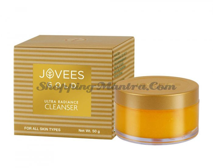 Очищающий крем с 24 карата золотом Джовис | Jovees 24 Gold Ultra Radiance Cleanser