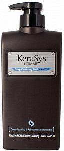 KeraSys Шампунь для волос Освежающий для мужчин с дозатором 550 мл