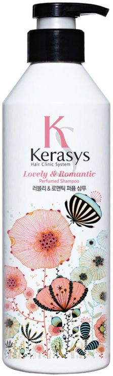KeraSys Шампунь для волос Романтик с дозатором 600 мл