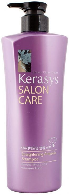 KeraSys Шампунь для волос Салон Кэр Выпрямление 600 г
