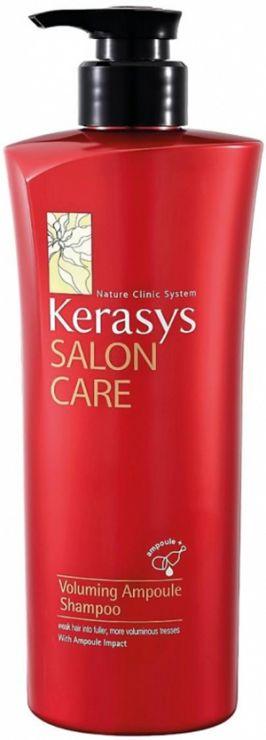 KeraSys Шампунь для волос Салон Кэр Объём с дозатором 600 г
