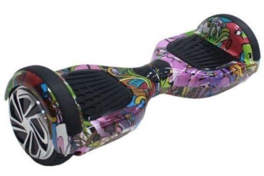Гироскутер Smart Balance 6.5 самобаланс Хип Хоп Фиолетовый