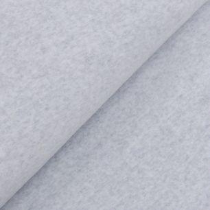 Велюр (плюш) хлопок - серый меланж 50х47