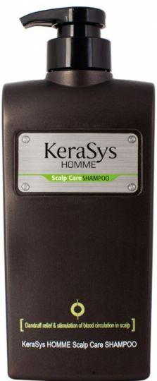 KeraSys Шампунь для лечения кожи головы для мужчин с дозатором 550 г