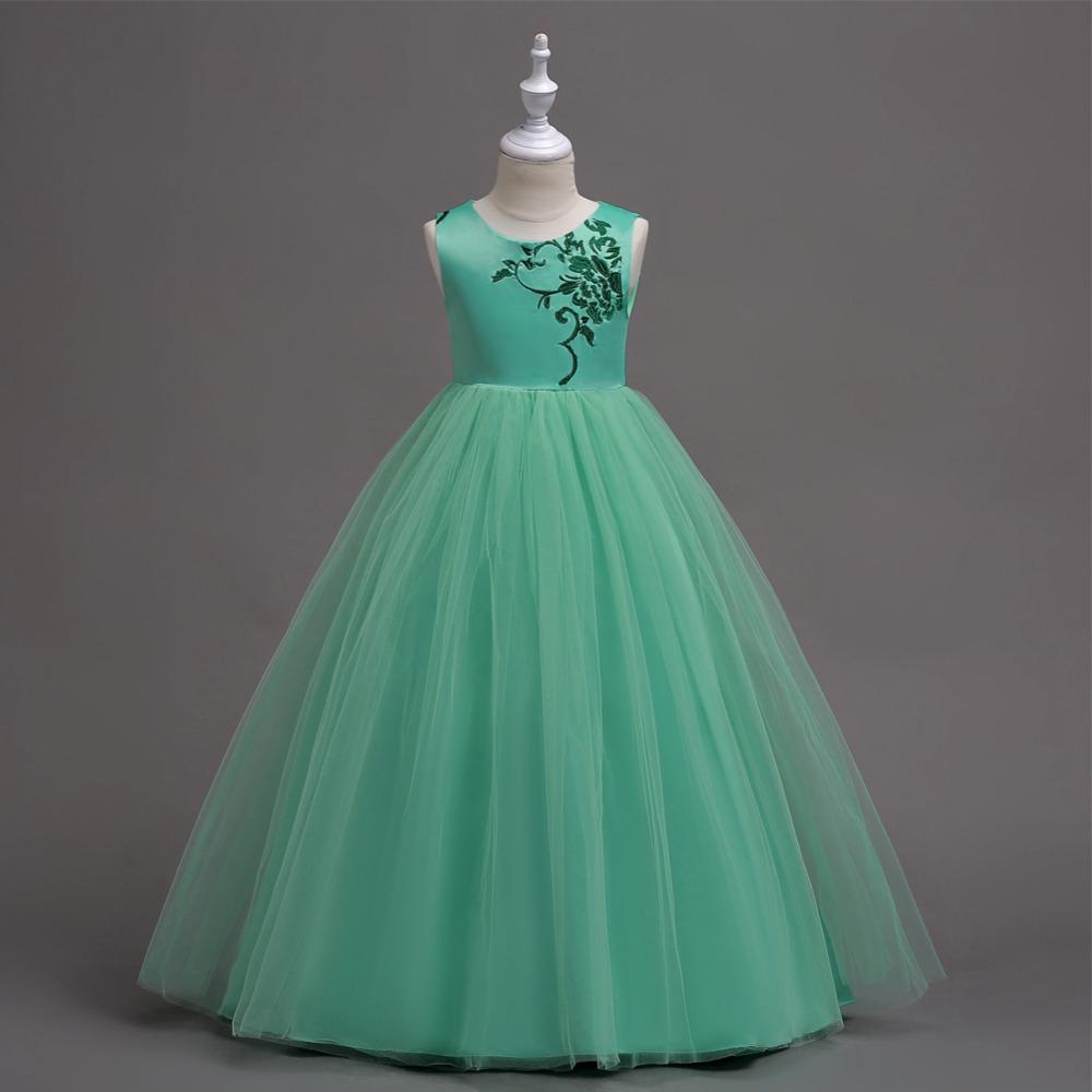 Зеленое Платье Для Девочки 12 Лет