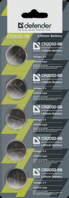Батарейка литиевая CR2032-5B в блистере 5 шт