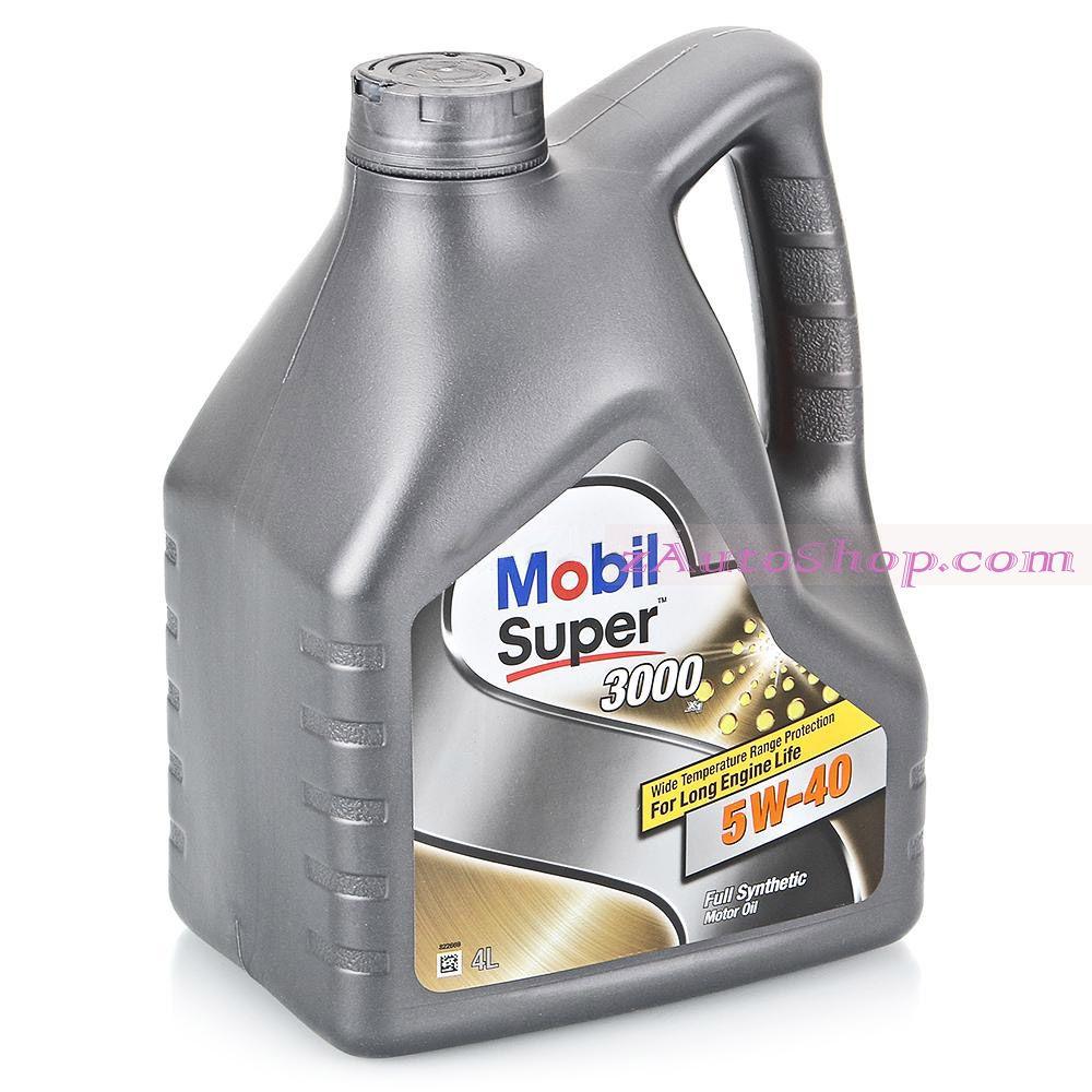 масло Mobil Super 3000 X1 5W40  4 л