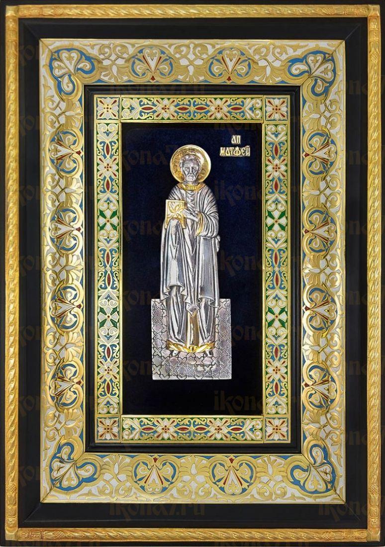 Матфей, апостол (29х40), серебро