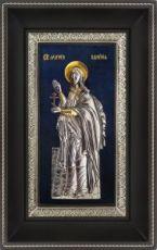 Валерия Кесарийская (18х29), серебро