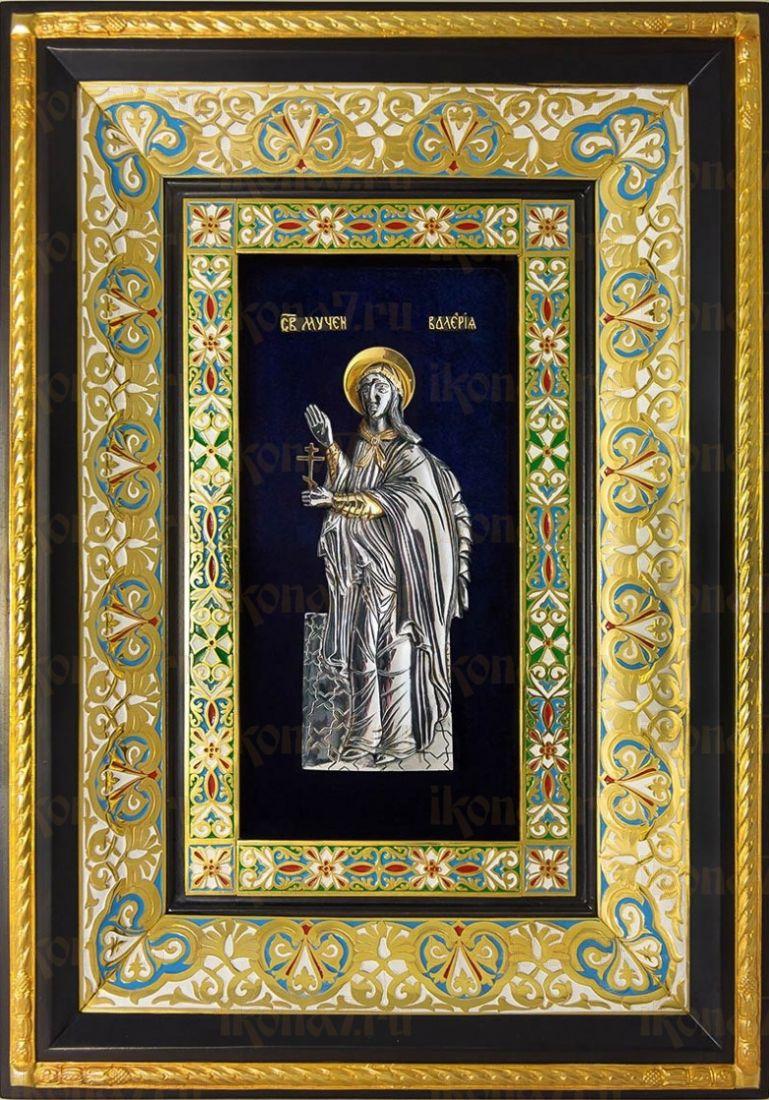 Валерия Кесарийская (29х40), серебро