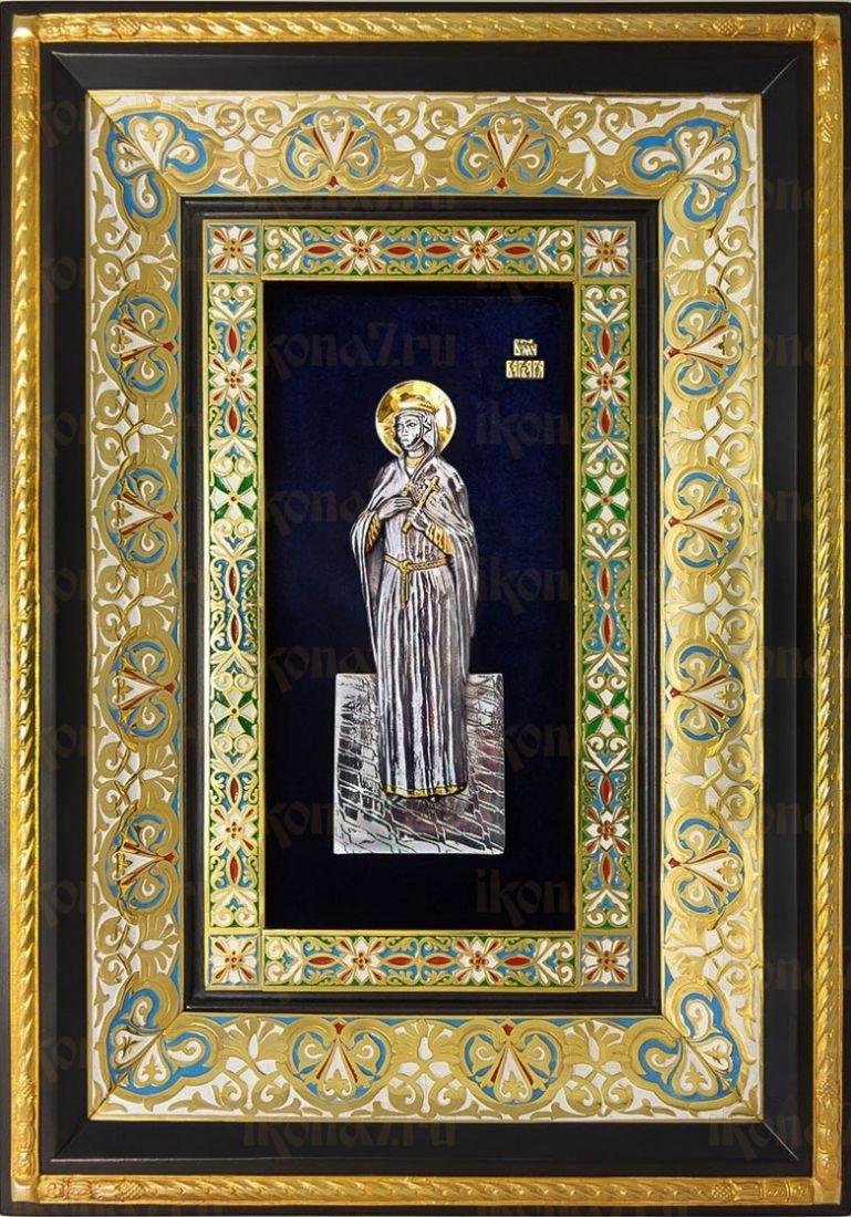 Варвара (29х40), серебро