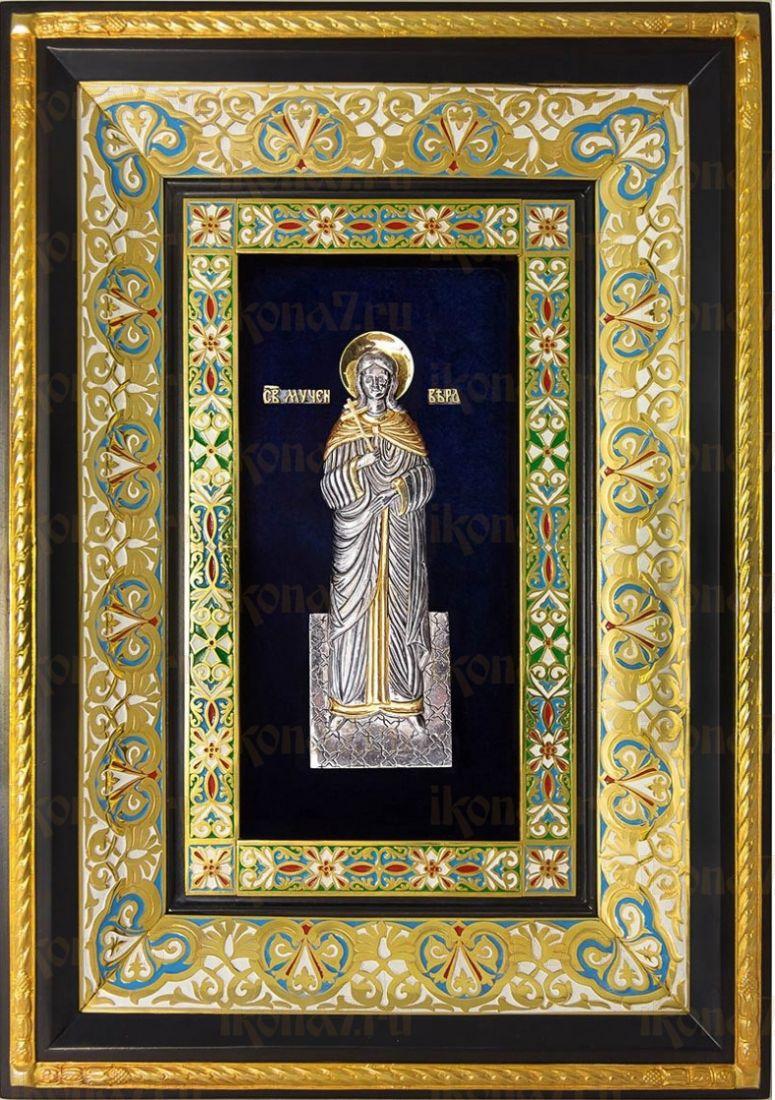 Вера Римская (29х40), серебро