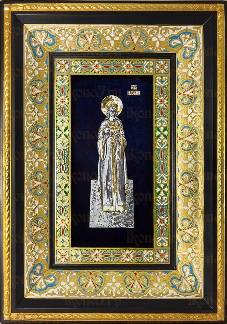 Екатерина, великомученица (29х40), серебро