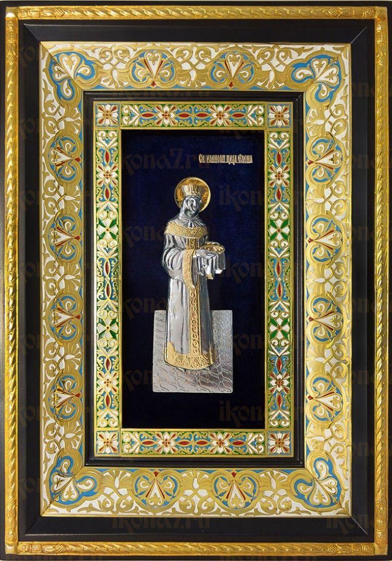 Елена, царица (29х40), серебро