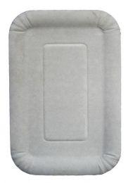 Тарелка картонная 13х20 см (100 шт.)