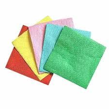 Салфетки  24х24 см цветные (80 шт.) Сибпласт