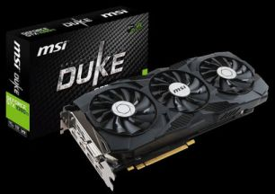 Видеокарта MSI DUKE 11GB GeForce GTX 1080 T