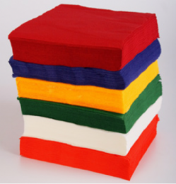 Салфетки  33х33 см 2х слойные /интенсивный цвет/ (20 шт.)