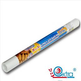 Бумага для выпечки (38 см х 8 м)  с силиконовым покрытием, антипригарная, многоразовая