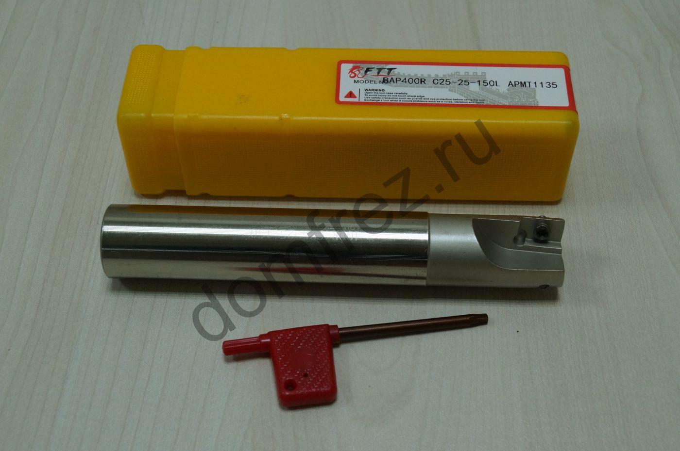 Оправка фрезерная BAP400R C25-25-150