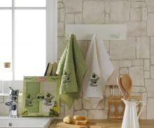 Комплект вафельных полотенец  ''LAMA''  ФРУКТЫ   45x65 - 2 шт.  Арт.1729-2