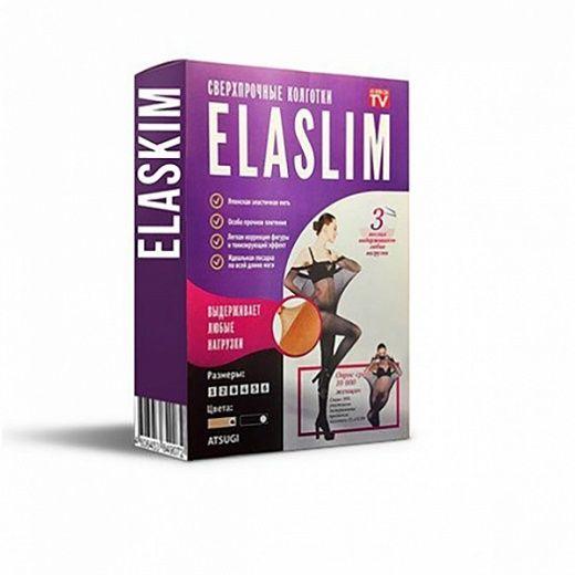 Сверхпрочные капроновые колготки ELASLIM