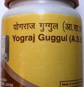 Йогарадж Гуггул (Yograj Guggul Divya Pharmacy), 40 таб.