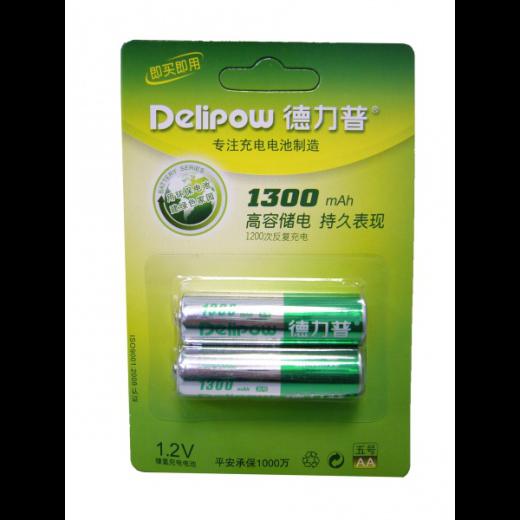 Аккумулятор АКК.Delipow R6 AA(1300 mAh,1.2V)