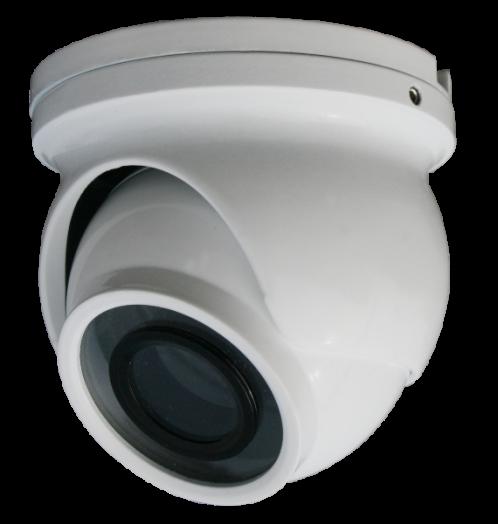 AHD видеокамера Орбита CA-ZMN001 Белая (*3)