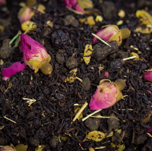 Каравеллы любви - черный чай с натуральными ароматизаторами.