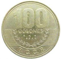 Коста-Рика 100 колон 2007 г.
