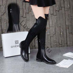 Ботфорты Givenchy на молнии