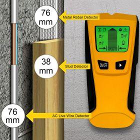 Детектор скрытой проводки, металла и дерева TH210