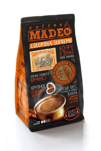 Кофе MADEO Colombia Supremo