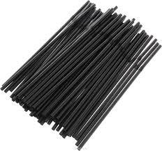 Трубочки с изгибом 210*5 мм (250 шт.) черные