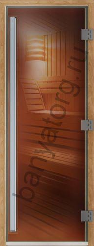 Дверь DoorWood Престиж бронза