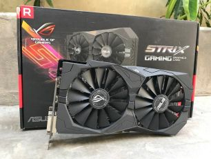 Видеокарта ASUS Strix RX570 4GB
