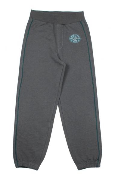Теплые темно-серые брюки для мальчика