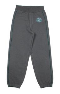 темно-серые брюки для мальчика с начесом